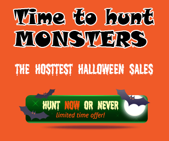 Halloween discount coupon code 2015