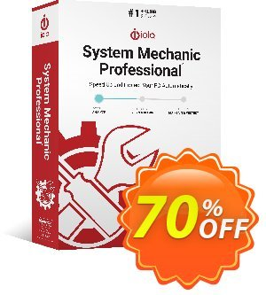 iolo System Mechanic Pro Coupon, discount iolo's 60% off 2019 New Year campaign. Promotion: Massive New Year coupon: 70% off, Df: AF50iolo