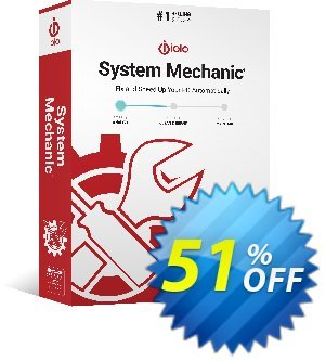 System Mechanic 15 Month discount coupon 3 months extra - FREE - staggering promotions code of System Mechanic 15 Month 2020