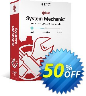 iolo System Mechanic Business 優惠券,折扣碼 iolo's 60% off 2019 New Year campaign,促銷代碼: Massive New Year coupon: 70% off. DF: af50iolo