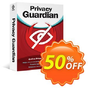 Privacy Guardian Coupon, discount iolo's 60% off New Year campaign. Promotion: Privacy Guardian iolo discount code: df IVS