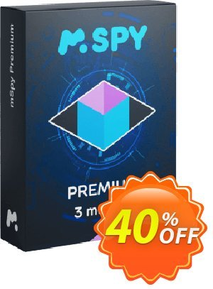 mSpy for Phone Premium - 3 months Subscription discount coupon  - mspy codes