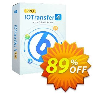 IOTransfer 4 Lifetime discount coupon 89% OFF IOTransfer 4 Lifetime, verified - Dreaded discount code of IOTransfer 4 Lifetime, tested & approved