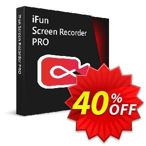 iFun Screen Recorder Pro (1 Month License) Coupon, discount 40% OFF iFun Screen Recorder Pro (1 Month License), verified. Promotion: Dreaded discount code of iFun Screen Recorder Pro (1 Month License), tested & approved