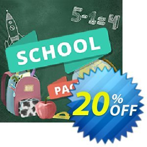 Movavi effect School Pack Coupon, discount School Pack fearsome sales code 2020. Promotion: fearsome sales code of School Pack 2020