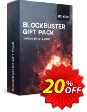 Movavi effect Blockbuster Gift Pack 優惠券,折扣碼 Blockbuster Gift Pack formidable offer code 2020,促銷代碼: formidable offer code of Blockbuster Gift Pack 2020