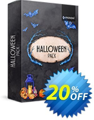 Movavi effect Halloween Pack Coupon, discount Halloween Pack big sales code 2020. Promotion: big sales code of Halloween Pack 2020
