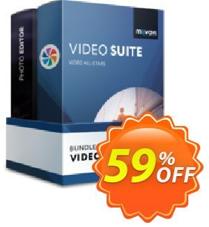 Movavi Bundle: Video Suite + Photo Editor discount coupon Bundle: Video Suite + Photo Editor  Big promotions code 2021 - Big promotions code of Bundle: Video Suite + Photo Editor  2021