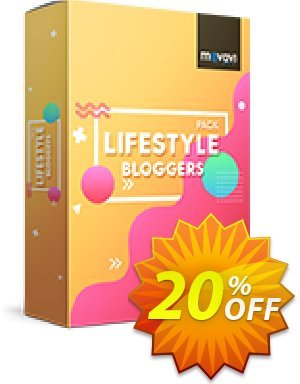 Movavi effect Lifestyle bloggers Pack Coupon discount Lifestyle bloggers Pack hottest discount code 2020. Promotion: hottest discount code of Lifestyle bloggers Pack 2020