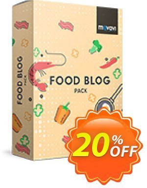Movavi effect Food blog Pack discount coupon Food blog Pack wondrous discount code 2020 - wondrous discount code of Food blog Pack 2020