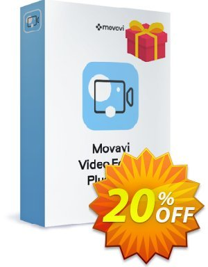 Bundle: Movavi Video Editor Plus + Gift Pack Coupon discount Bundle: Video Editor Plus + Gift Pack Fearsome promo code 2020. Promotion: Fearsome promo code of Bundle: Video Editor Plus + Gift Pack 2020