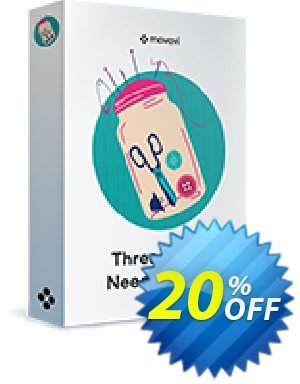 Movavi effect: Threads and Needles Pack discount coupon Threads and Needles Pack Wonderful sales code 2020 - Wonderful sales code of Threads and Needles Pack 2020