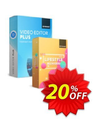 Movavi Video Editor Plus + Lifestyle Blogger Pack discount coupon Video Editor Plus + Lifestyle Blogger Pack Exclusive sales code 2020 - Exclusive sales code of Video Editor Plus + Lifestyle Blogger Pack 2020