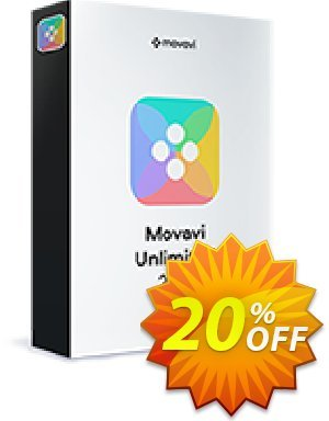 Movavi Unlimited Business Coupon, discount 20% OFF Movavi Unlimited Business, verified. Promotion: Excellent promo code of Movavi Unlimited Business, tested & approved