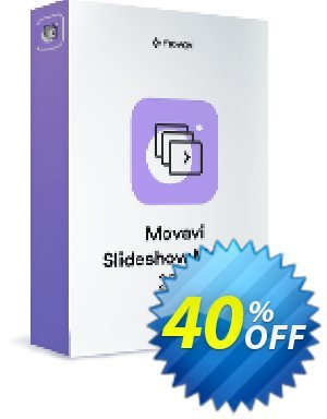 Movavi Slideshow Maker Coupon discount 15% Affiliate Discount - amazing promo code of Movavi Slideshow Maker – Personal 2020