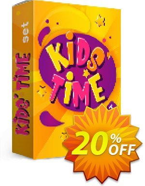 Movavi effect: Kids' Time Set discount coupon Kids' Time Set Awful promo code 2021 - Awful promo code of Kids' Time Set 2021