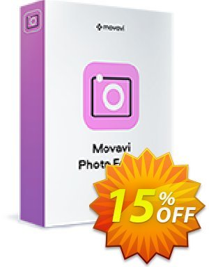 Movavi Photo Editor for Mac (1 year subscription) discount coupon 15% Affiliate Discount - Fearsome deals code of Movavi Photo Editor for Mac – 1 year subscription 2021