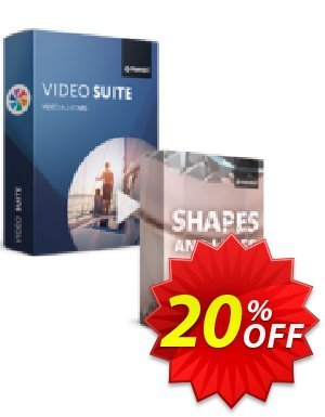Movavi Bundle: Video Suite + Shapes and Lines Pack discount coupon 20% OFF Movavi Bundle: Video Suite + Shapes and Lines Pack, verified - Excellent promo code of Movavi Bundle: Video Suite + Shapes and Lines Pack, tested & approved