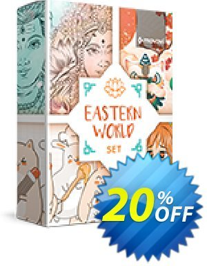 Movavi effect: Eastern World Set Coupon, discount Eastern World Set Awesome offer code 2020. Promotion: Awesome offer code of Eastern World Set 2020