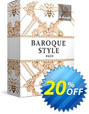 Movavi effect: Baroque Style Pack 프로모션 코드 Baroque Style Pack Staggering discount code 2020 프로모션: Staggering discount code of Baroque Style Pack 2020