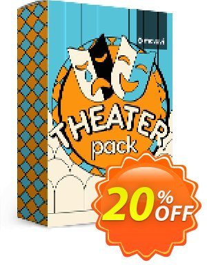 Movavi effect: Theater Pack 프로모션 코드 Theater Pack Stirring discounts code 2020 프로모션: Stirring discounts code of Theater Pack 2020