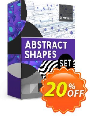 Movavi effect: Abstract Shapes Set Coupon, discount Abstract Shapes Set Super discounts code 2020. Promotion: Super discounts code of Abstract Shapes Set 2020