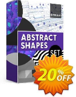 Movavi effect: Abstract Shapes Set 프로모션 코드 Abstract Shapes Set Super discounts code 2020 프로모션: Super discounts code of Abstract Shapes Set 2020