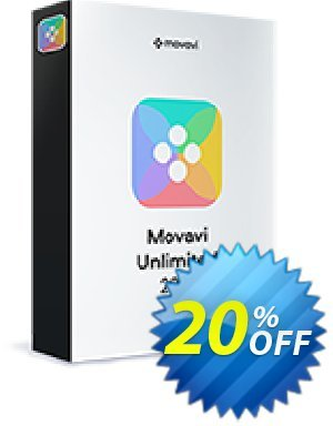Movavi Unlimited 1-year + Red Lasers Exclusive Pack discount coupon 20% OFF Movavi Unlimited 1-year + Red Lasers Exclusive Pack, verified - Excellent promo code of Movavi Unlimited 1-year + Red Lasers Exclusive Pack, tested & approved