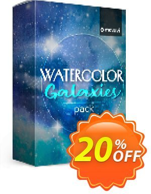Movavi effect: Watercolor Galaxies Pack 優惠券,折扣碼 Watercolor Galaxies Pack Dreaded discount code 2020,促銷代碼: Dreaded discount code of Watercolor Galaxies Pack 2020