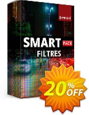 Movavi effect: Smart Filters Pack Business 優惠券,折扣碼 Smart Filters Pack - Business Staggering promo code 2020,促銷代碼: Staggering promo code of Smart Filters Pack - Business 2020