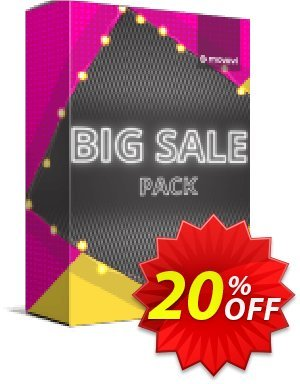 Movavi effect: Big Sale Pack Coupon, discount Big Sale Pack Marvelous discount code 2020. Promotion: Marvelous discount code of Big Sale Pack 2020