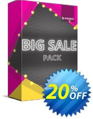 Movavi effect: Big Sale Pack 프로모션 코드 Big Sale Pack Marvelous discount code 2020 프로모션: Marvelous discount code of Big Sale Pack 2020