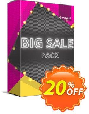 Movavi effect: Big Sale Pack Business 優惠券,折扣碼 Big Sale Pack - Business Imposing promo code 2020,促銷代碼: Imposing promo code of Big Sale Pack - Business 2020