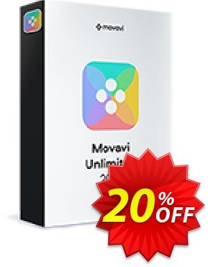 Movavi Unlimited for MAC discount coupon 20% OFF Movavi Unlimited for MAC 1-year, verified - Excellent promo code of Movavi Unlimited for MAC 1-year, tested & approved