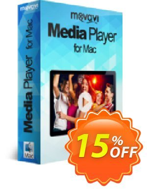 Movavi Media Player for Mac discount coupon 15% Affiliate Discount - fearsome discounts code of Movavi Media Player for Mac – Personal 2020