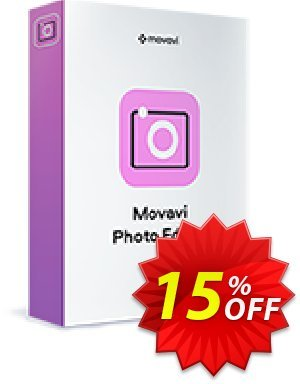 Movavi Photo Editor (Business License)割引コード・15% Affiliate Discount キャンペーン:exclusive sales code of Movavi Photo Editor – Business 2020