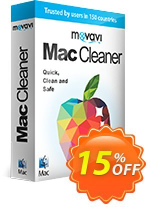 Movavi Mac Cleaner for 5 Macs 优惠券