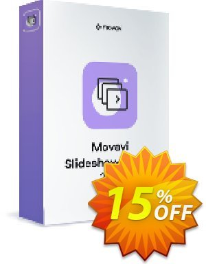 Movavi Slideshow Maker for Mac 優惠券,折扣碼 15% Affiliate Discount,促銷代碼: impressive promo code of Movavi Slideshow Maker for Mac – Personal 2019
