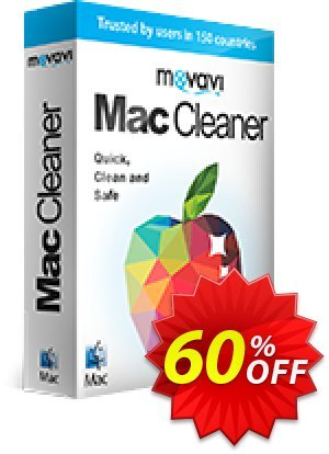 Movavi Mac Cleaner for 5 Macs 产品销售