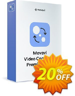 Movavi Video Converter Premium for Mac - Lifetime Business discount coupon 20% Affiliate Discount - exclusive sales code of Movavi Video Converter Premium for Mac – Business 2020