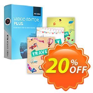 Bundle: Movavi Video Editor Plus + Effects discount coupon Bundle: Video Editor Plus + Effects Awful promo code 2020 - Awful promo code of Bundle: Video Editor Plus + Effects 2020