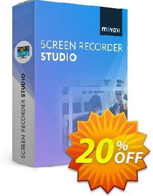 Movavi Screen Recorder Studio (1 year) discount coupon Movavi Screen Recorder Studio – Annual Subscription imposing discount code 2020 - staggering offer code of Movavi Screen Recorder Studio – Annual Subscription 2020