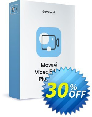 Movavi Video Editor Plus (1 year) discount coupon Affiliate Avengers 2021 - 30% Discount - super sales code of Movavi Video Editor Plus – 1 year subscription 2021