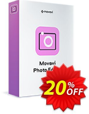 Movavi Photo Editor (1 year) Coupon discount Movavi Photo Editor – 1 year subscription Awful deals code 2020. Promotion: Awful deals code of Movavi Photo Editor – 1 year subscription 2020