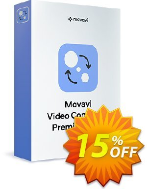 Movavi Video Converter  Premium (Business) discount coupon 15% Affiliate Discount - amazing discounts code of Movavi Video Converter – Business 2020