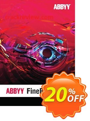 ABBYY FineReader PDF 15 Standard Upgrade Coupon, discount NFR-WW-Spring Sale 2021 Affiliates. Promotion: best discounts code of ABBYY FineReader 15 Standard Upgrade 2021