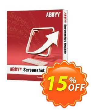 ABBYY Screenshot Reader - Download version Coupon, discount ABBYY Screenshot Reader - Download version wonderful discounts code 2021. Promotion: wonderful discounts code of ABBYY Screenshot Reader - Download version 2021