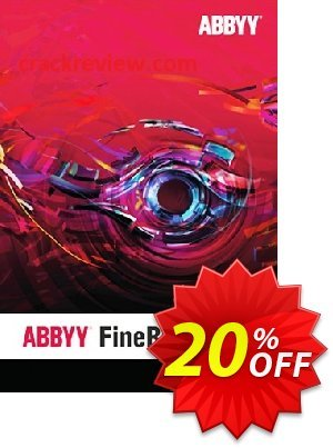 ABBYY FineReader Standard Upgrade for Windows discount coupon ABBYY FineReader 14 Standard Upgrade for Windows stirring promotions code 2020 - stirring promotions code of ABBYY FineReader 14 Standard Upgrade for Windows 2020