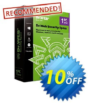 Dr.Web Security Space (License renewal) Coupon, discount Home products (Dr.Web Security Space), License renewal super deals code 2020. Promotion: super deals code of Home products (Dr.Web Security Space), License renewal 2020