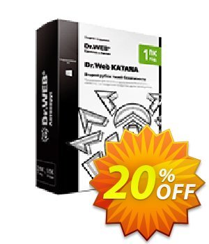 Dr.Web KATANA Coupon, discount Home Products (Dr.Web Katana) imposing promotions code 2020. Promotion: Dr.Web Katana coupon code